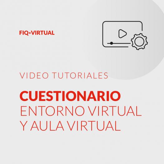 Cuestionario – Entorno virtual / Aula virtual
