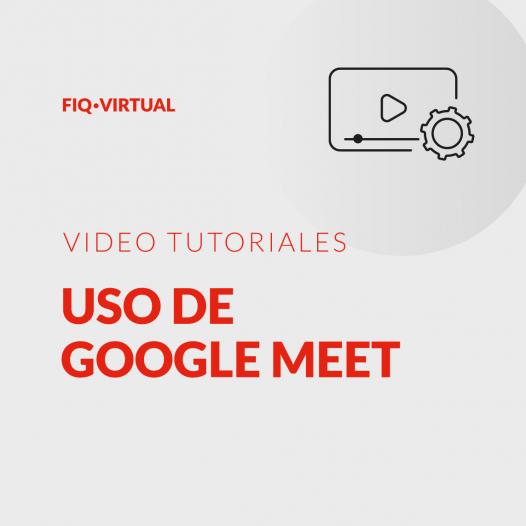 Uso de Google Meet