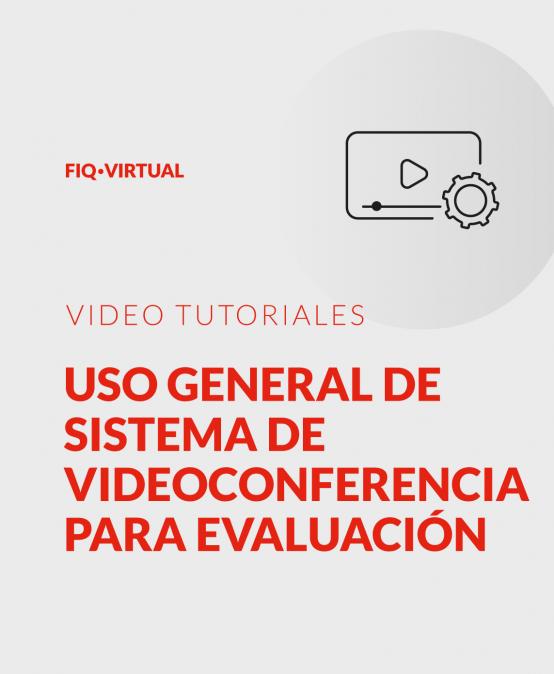 Uso general de sistema de videoconferencia para evaluación