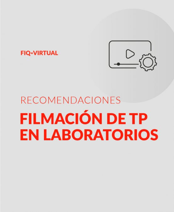 Filmación de TP en Laboratorios