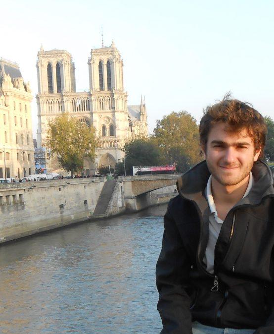 Nuestros estudiantes por el mundo: Franco Bravard