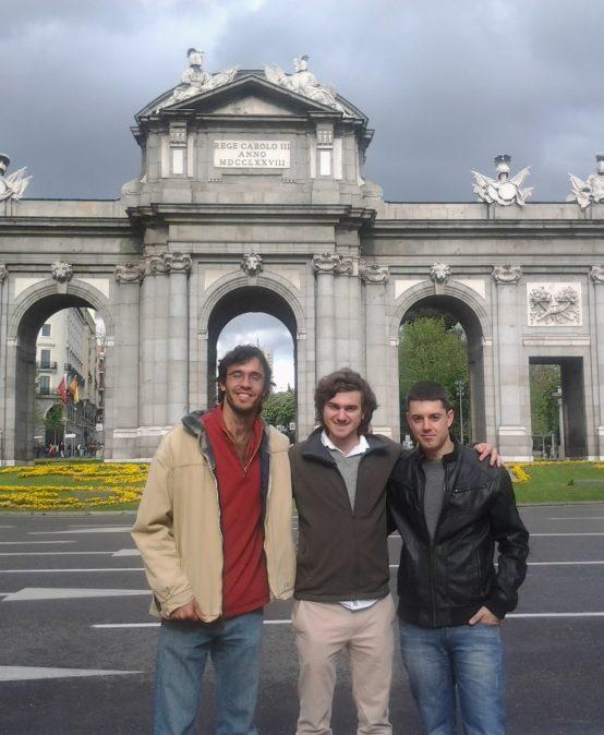 Nuestros estudiantes por el mundo: Agustín